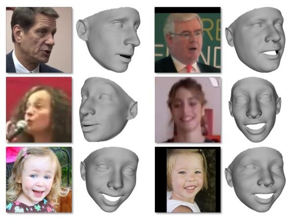 ExpNet: Landmark-Free, Deep, 3D Facial Expressions - Tal Hassner